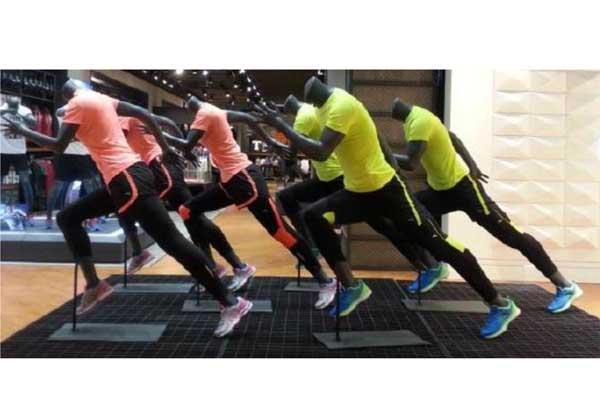 Sport Running Mannequins