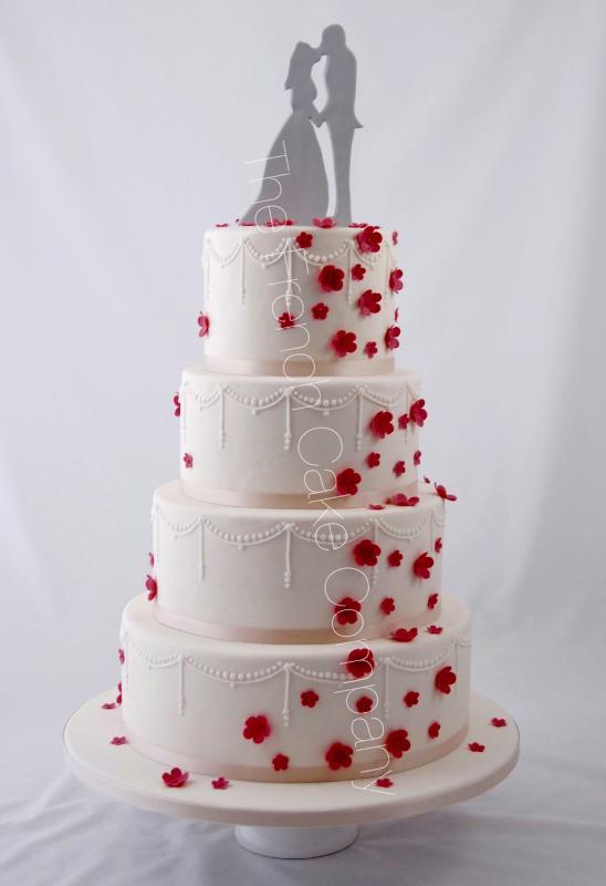 Gâteaux Et Pièces Montées Sur Mesure Gâteau Mariage Fleurs