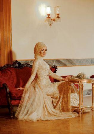 3b23335f094 Robe de Mariée  Soirée Hijab fashion Wedding Dresses - ATELIER ROBE D ASYA
