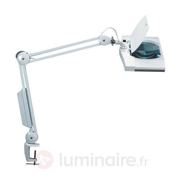 Lampe Avec Loupe Pratique Vitrum Blanc Lampes De Bureau Luminaire