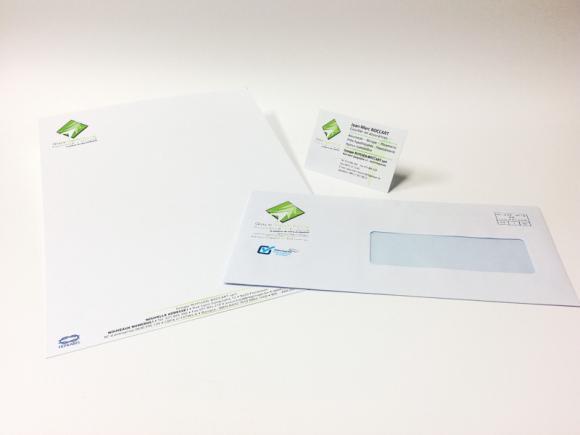 Entetes De Lettre Cartes Visite Enveloppes Impression Offset Et Digitale