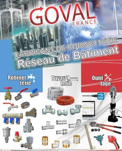 Robinetterie Industrielle Batiment Eau Gaz Groupe Gotrex France