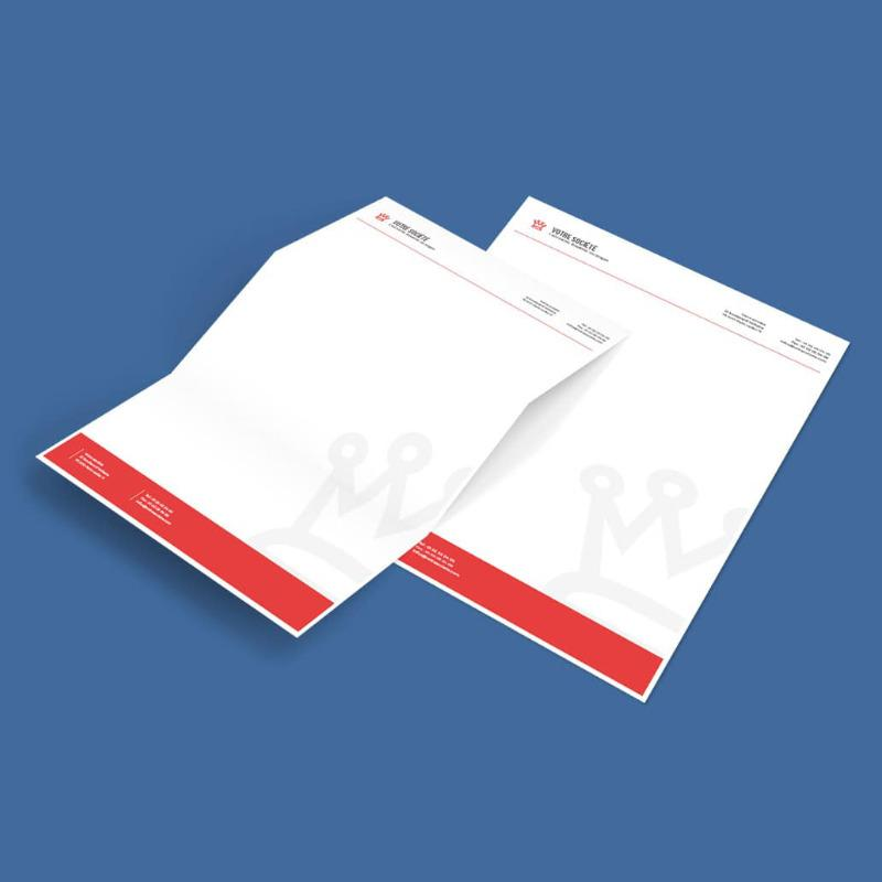 Tete De Lettre Papier Correspondance Fond Facture COREP SEMACO France