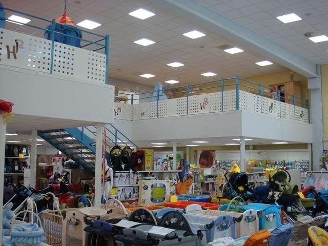Mezzanine pour magasin Mezzatech