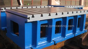 Box Tables, Material: grey cast iron GG25 (HT-250)