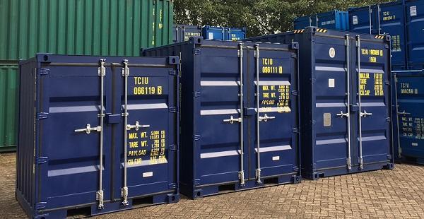 extra hoge kleine opslagcontainers