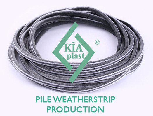 Pile Weatherstrip (dustproof and buffer brush)