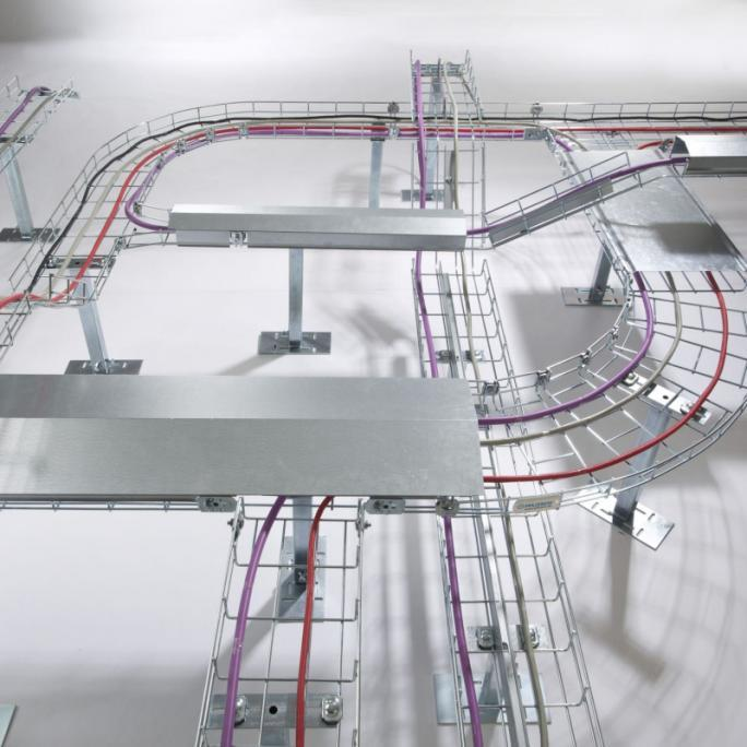 Gitter-Kanal: offenes System mit hoher Flexibilität