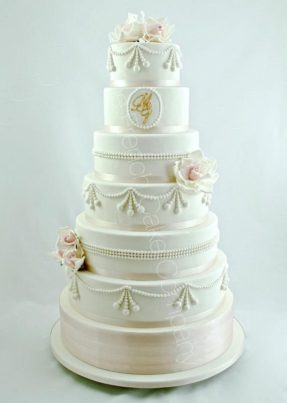 Gâteaux Et Pièces Montées Sur Mesure Gâteau Mariage Perles