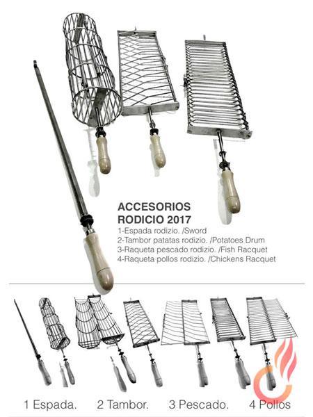 Espadas y Jaulas para Rodizío