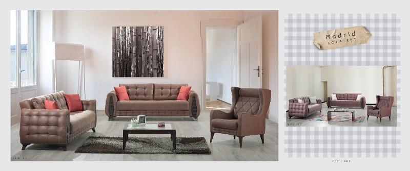 Magnificent Madrid Sofa Set Sofasets Kardel Furniture Turkey Interior Design Ideas Inamawefileorg