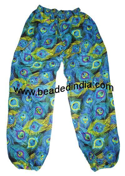 Harem pants, pure cotton, full size yoga pants for ladies