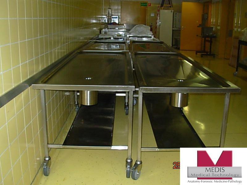 Autopsy Table Veterinary Anatomy / Pathology Dissecting