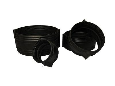 Grooved coupling rubber part