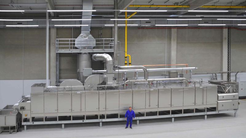 Conveyor belt roaster