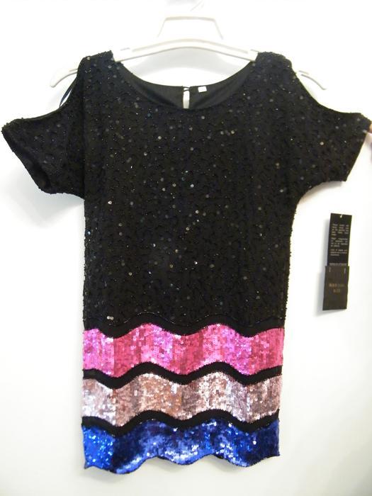 Hand Embroidered Embellished Top Dress