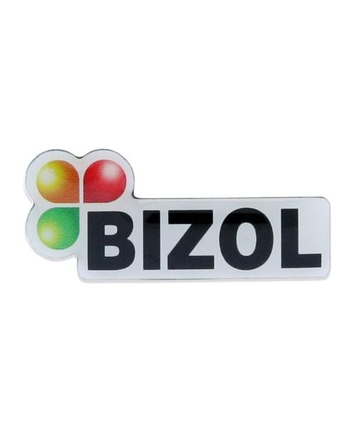"Pin, bedruckt im Offsetdruck ""BIZOL – Motorenöle"""