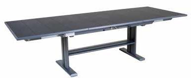 Table extensible, KOTON - Aluminium et HPL, LES JARDINS®, France