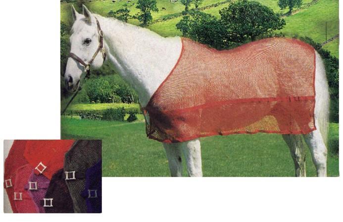 Mesh Cotton Fabric Horse Rug Clothes