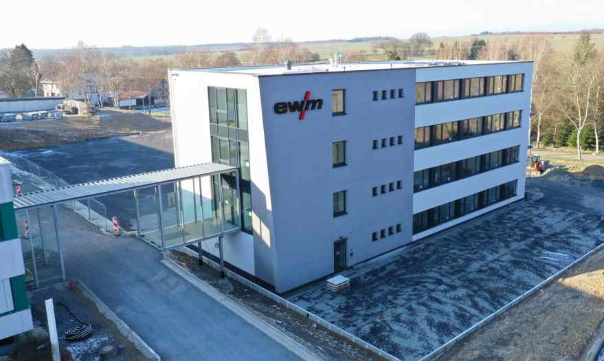 New EWM administration building opened in Mündersbach