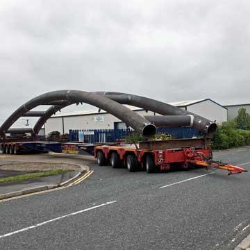 62m Footbridge Heads to Worcester