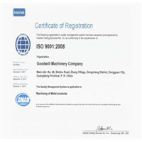 Goodwill Precision won the Quality Certification