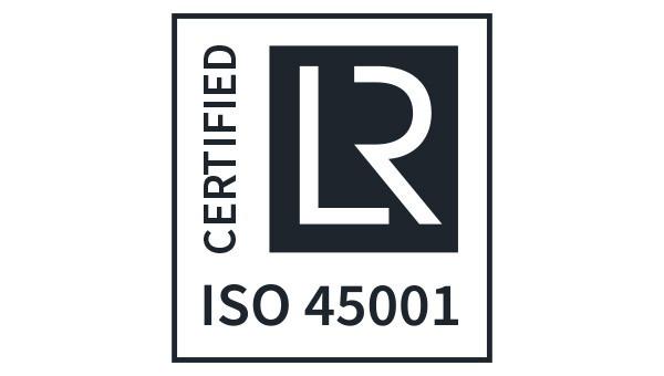 Flottweg est certifiée ISO 45001.