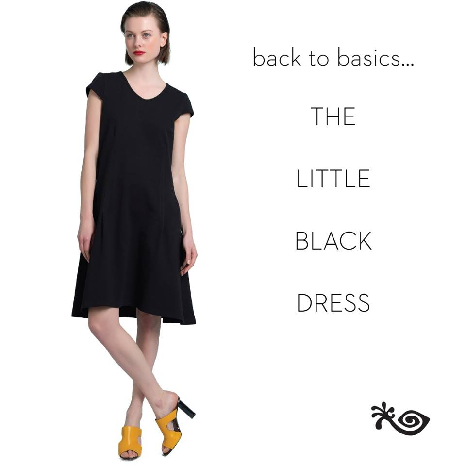A BLACK DRESS for all occasions
