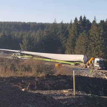 Clocaenog Forest Wind Farm Begins
