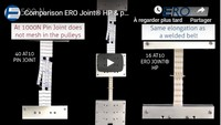 Comparison ERO Joint HP & Pin joint