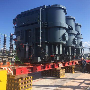 Delivering Willenhall Super Grid Transformer