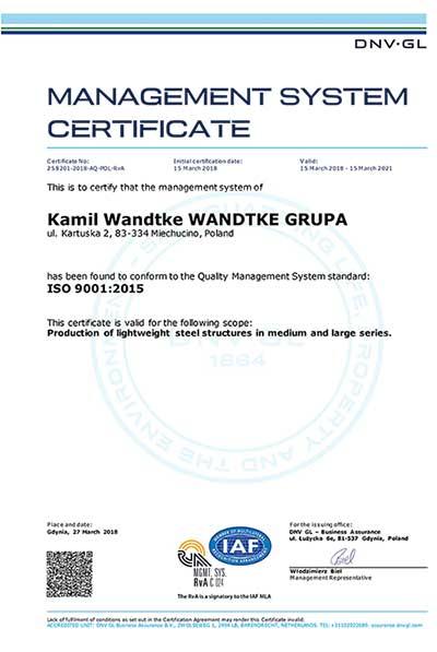 New Certificate!