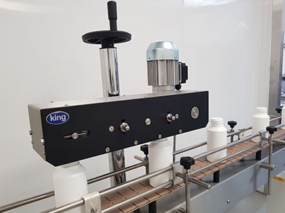 Semi-automatic Press Capping Machine