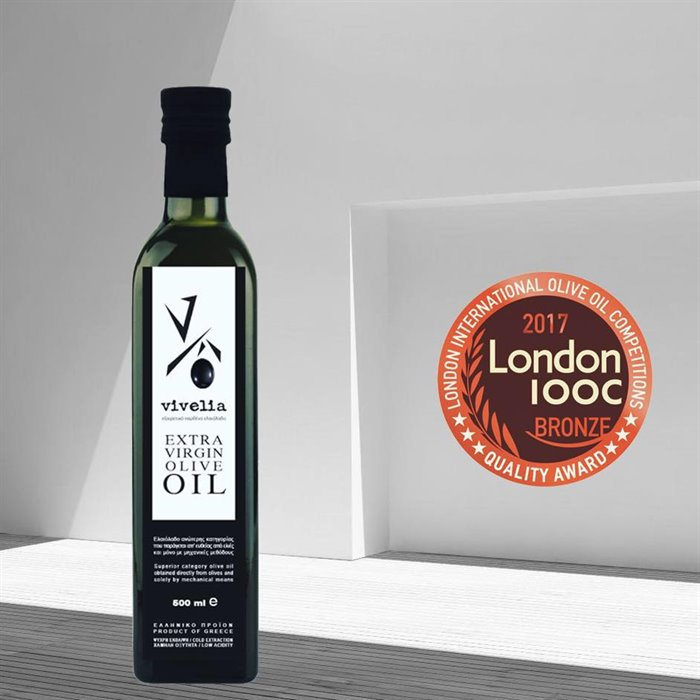 AWARDED GREEK OLIVE OIL