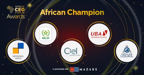 Africa CEO Forum Awards: Le Groupe tunisien Loukil parmi les