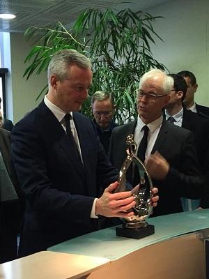 Rencontre avec le Ministre de l'économie  Bruno Lemaire