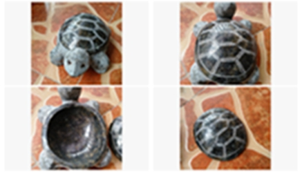 Do you want to have a mini green sea turtle stone carving?