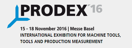 GPM have a booth in PRODEX`16 in Messe Basel,Swetzerland