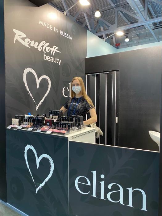 Декоративная косметика ELIAN RUSSIA на выставке Intercharm