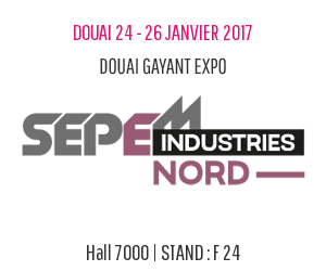 We will be in the SEPEM INDUSTRIES FAIR !