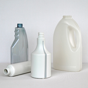 Plastic Bottles Made of Granulate