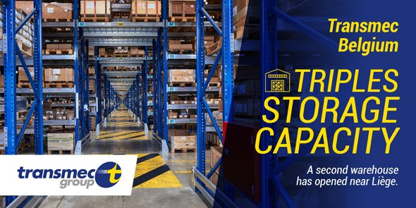 Transmec opens a second warehouse in Belgium