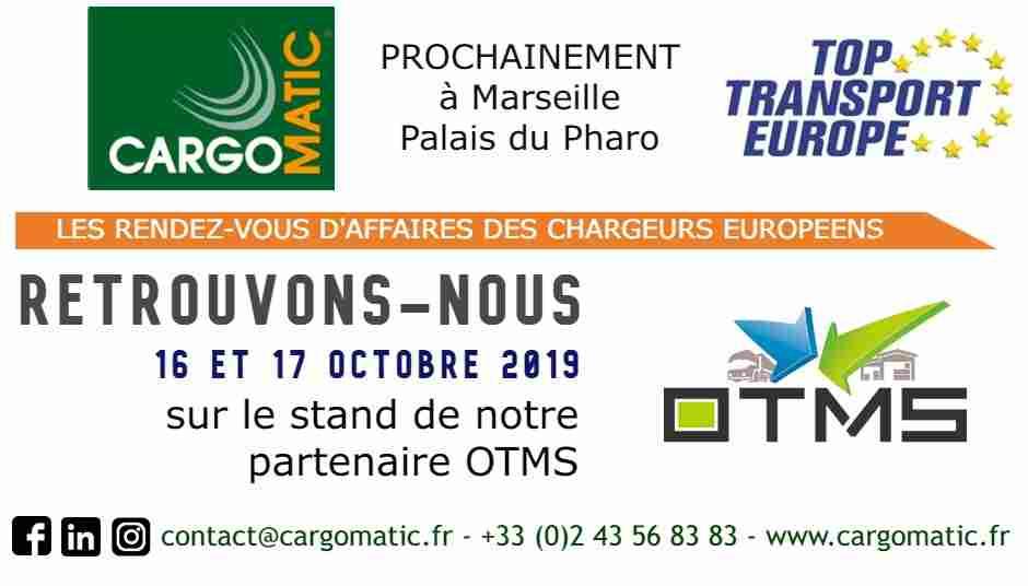 Cargomatic au Top Transport Europe 2019