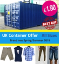Container DEAL : Brand New assorted Mens & Ladies