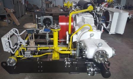 Produced a new nitrogen compressor station