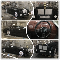 How stunning Rolls-Royce car carving designed by Haobo stone