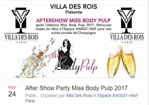 Aftershow miss body pulp