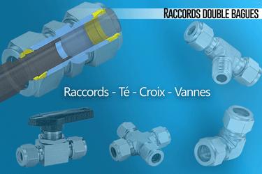 Raccords double bague