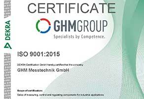 GHM GROUP makes measurement precision the standard.