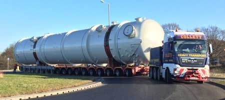 140 Tonnes from Kilnhurst to Immingham